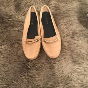 5/$30 Nautica Blush Loafers Boat Shoes